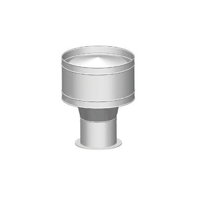Wywietrzak daszek cylindryczny ocynk 300-600