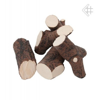 Eelementy ozdobne drewienka ceramiczne