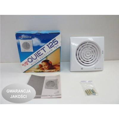 Wentylator osiowy QUIET TH timer + higrostat VENTS
