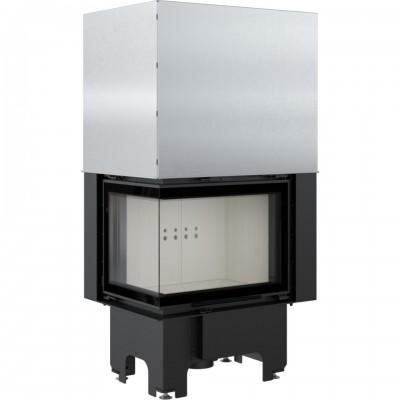 Wkład kominkowy 9 kW VN 610/430 lewy BS z gilotyną