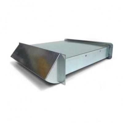 Nawietrzak wentylacyjny prostokątny z chromoniklu NP1-CC  DARCO