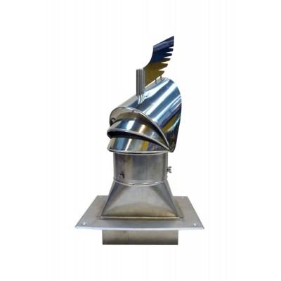Nasada kominowa z podstawą DRAGON 140x270 / fi200