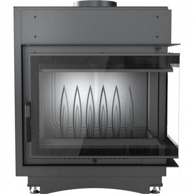 Wkład kominkowy 11 kW MAJA DECO prawy (szyby łączone bez szprosa)