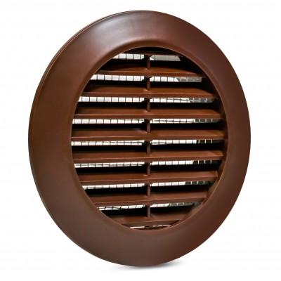 Kratka wentylacyjna brązowa fi 70 mm