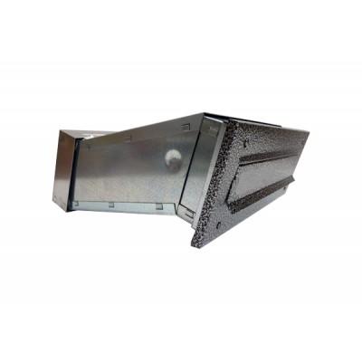 Skrzynka na listy do wmurowania, antyczne srebro - 6 STS