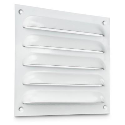 Kratka wentylacyjna metalowa  biel
