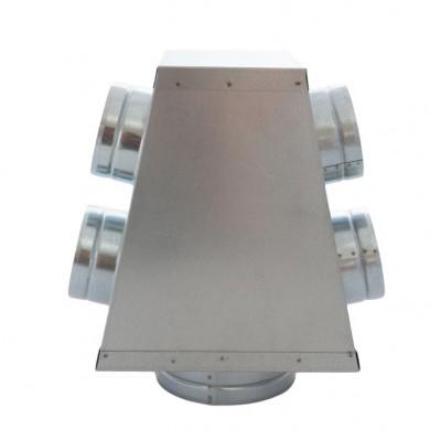 Skrzynka rozdzielcza SRRS 150 / 4x100 ocynk spiro