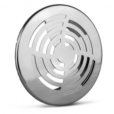 Kratka wentylacyjna metalowa nierdzewna MVZ fi 100/125 mm
