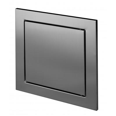 Drzwiczki rewizyjne metalowe nierdzewne inox klik-klak