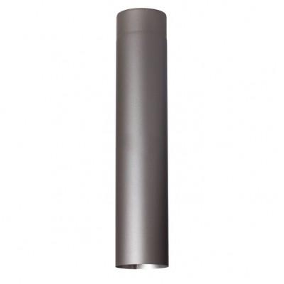Rura prosta szara z blachy czarnej 0,6 mm