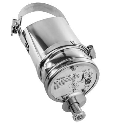 Regulator ciągu kominowego RCR 080-110 na rurę