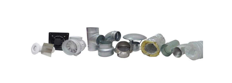 Wentylacje kanały i kształtki łącznik kanału PvC oraz ABS plastik ocynk rury flex spiro